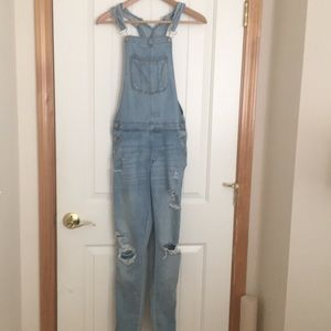 perfect condition distressed overalls!